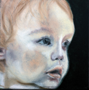 Rose, oil on canvas
